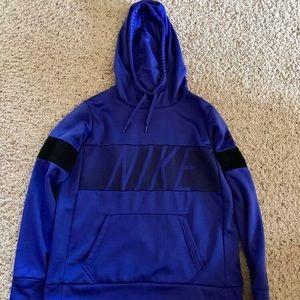 Women's Purple Nike Dri-Fit Hoodie Size M—EUC